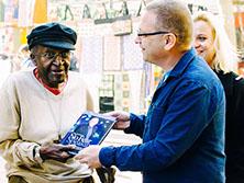 Archbishop Desmond Tutu,<br /> Nobel Peace Prize winner